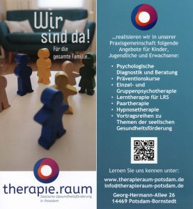 Flyer-therapieraum