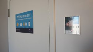Patienten-WC barrierefrei