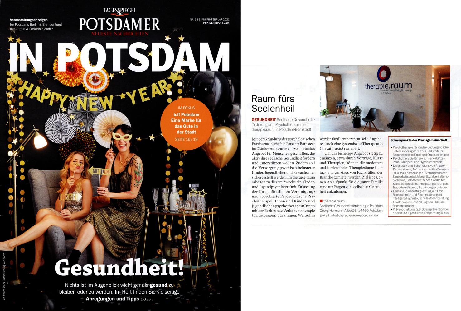 """In Potsdam"" Anzeige 02-2021"