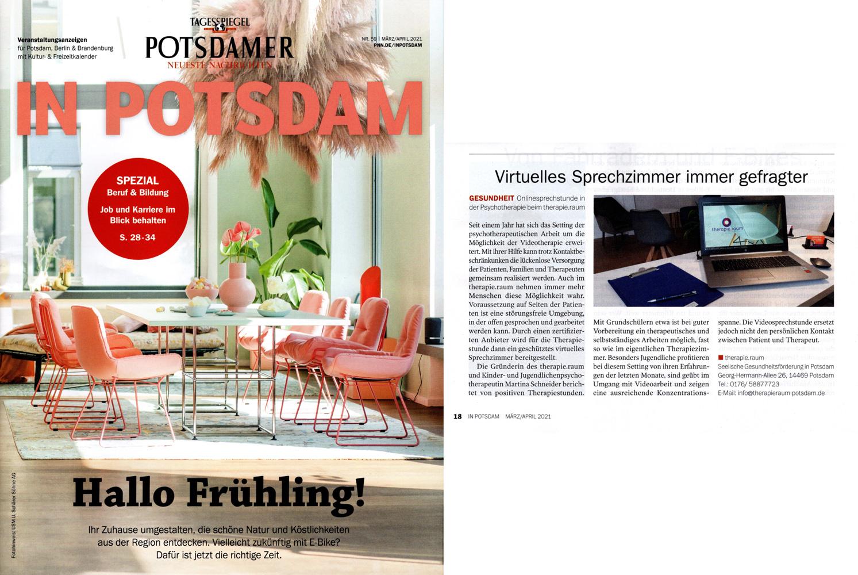 """In Potsdam"" Anzeige 03/04-2021"